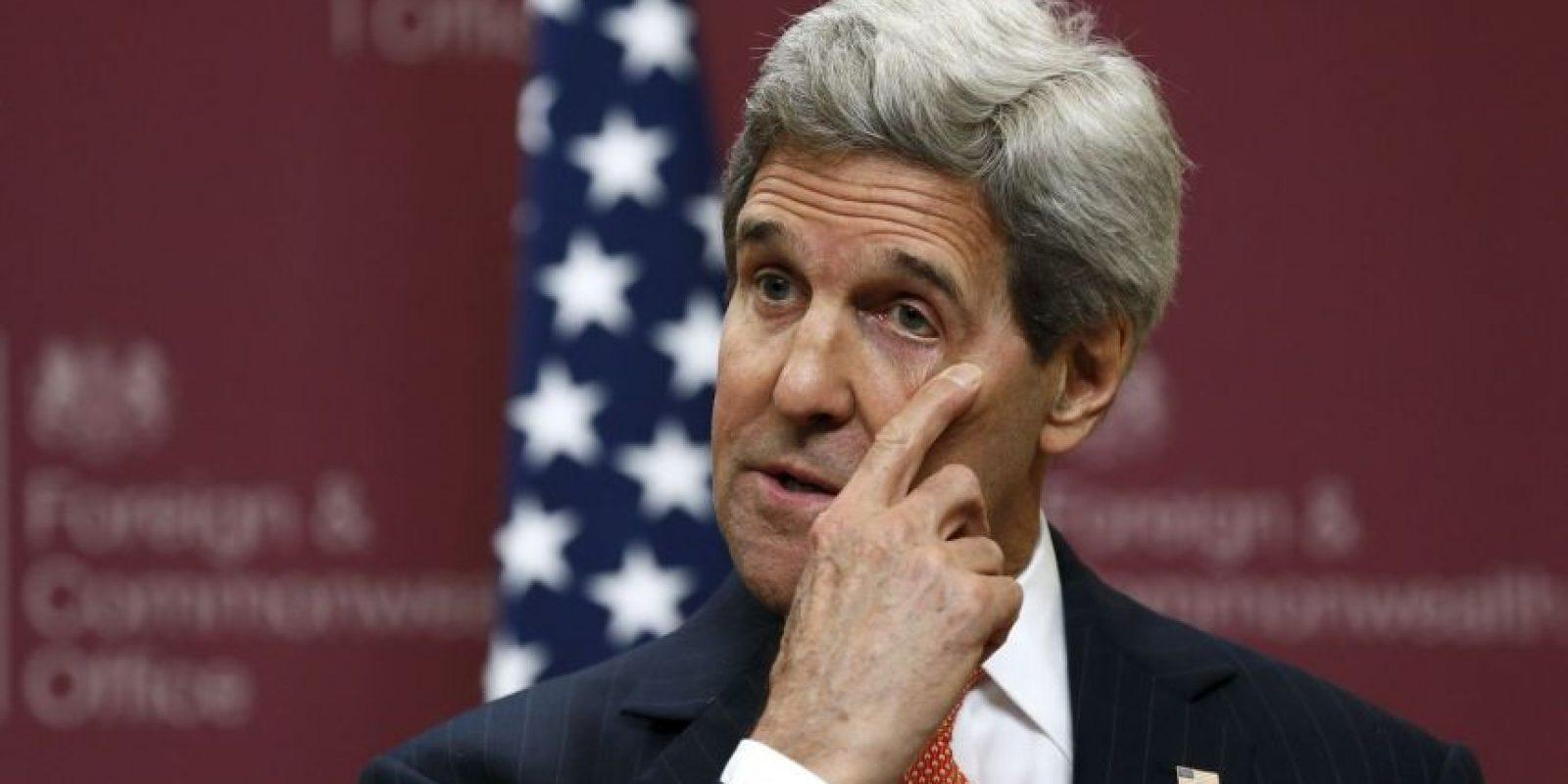 El Secretario de Estado de EU, John Kerry. Foto:AP