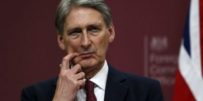 El ministro británico de Exteriores, Philip Hammond. Foto:AP