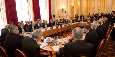 Londres fue el punto de reunión. Foto:AP
