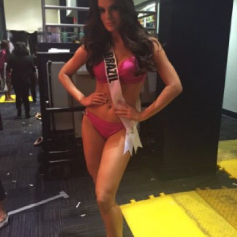 Así lució Miss Brasil durante los preliminares Foto:Twitter/Miss Universo