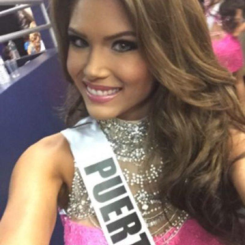 Otras de las favoritas latinas, Miss Puerto Rico Foto:Twitter/Miss Universo