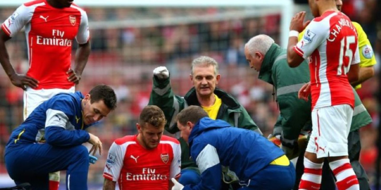 Jack Wilshere ha sufrido por diversas lesiones. Foto:Getty Images