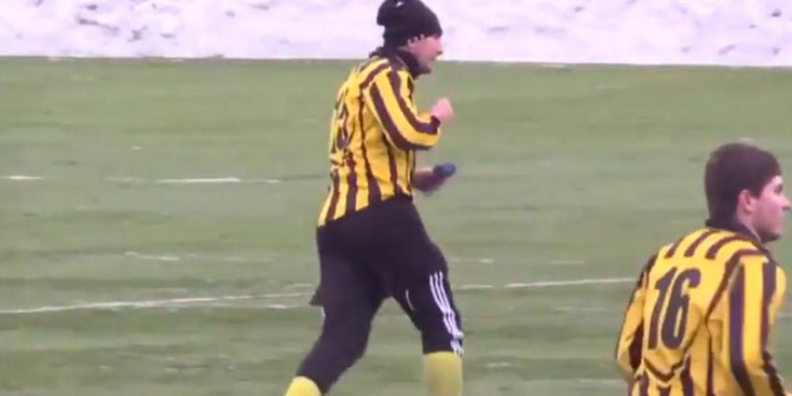 Su equipo superó 2-1 al Olimpik Donetsk Foto:Youtube: 101greatgoalsFan2
