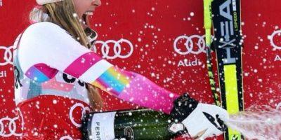 Lindsey Vonn, la novia de Tiger Woods triunfa en la nieve, pero sufre depresión