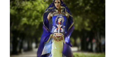 Kimberly Castillo como la Virgen de Altagracia Foto:Instagram/socratemckinney