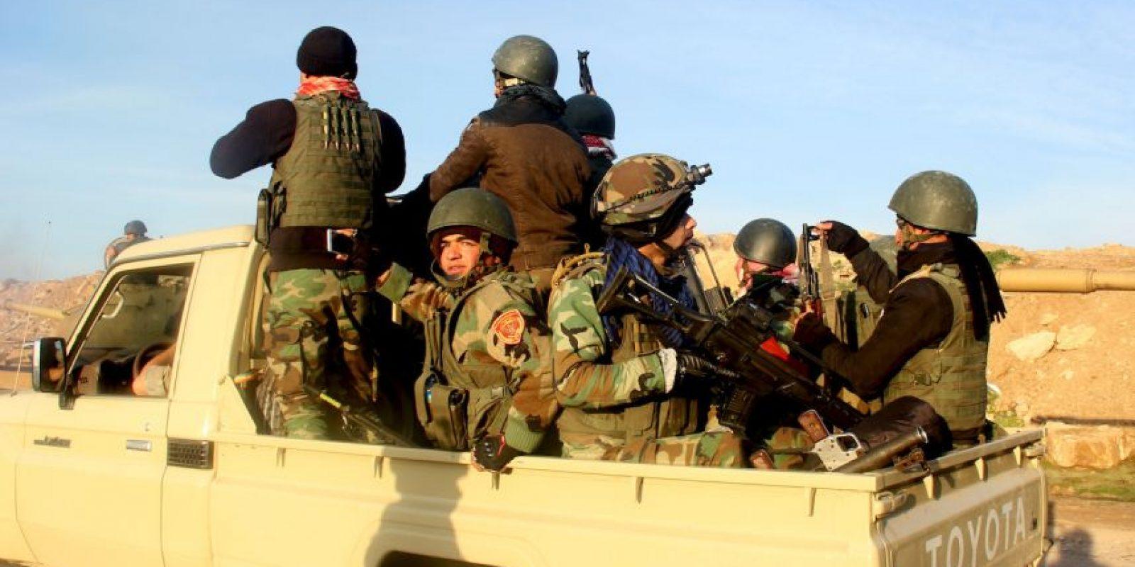 Las tropas militares tienen que prepararse bien para enfrentar a los terroristas. Foto:AP