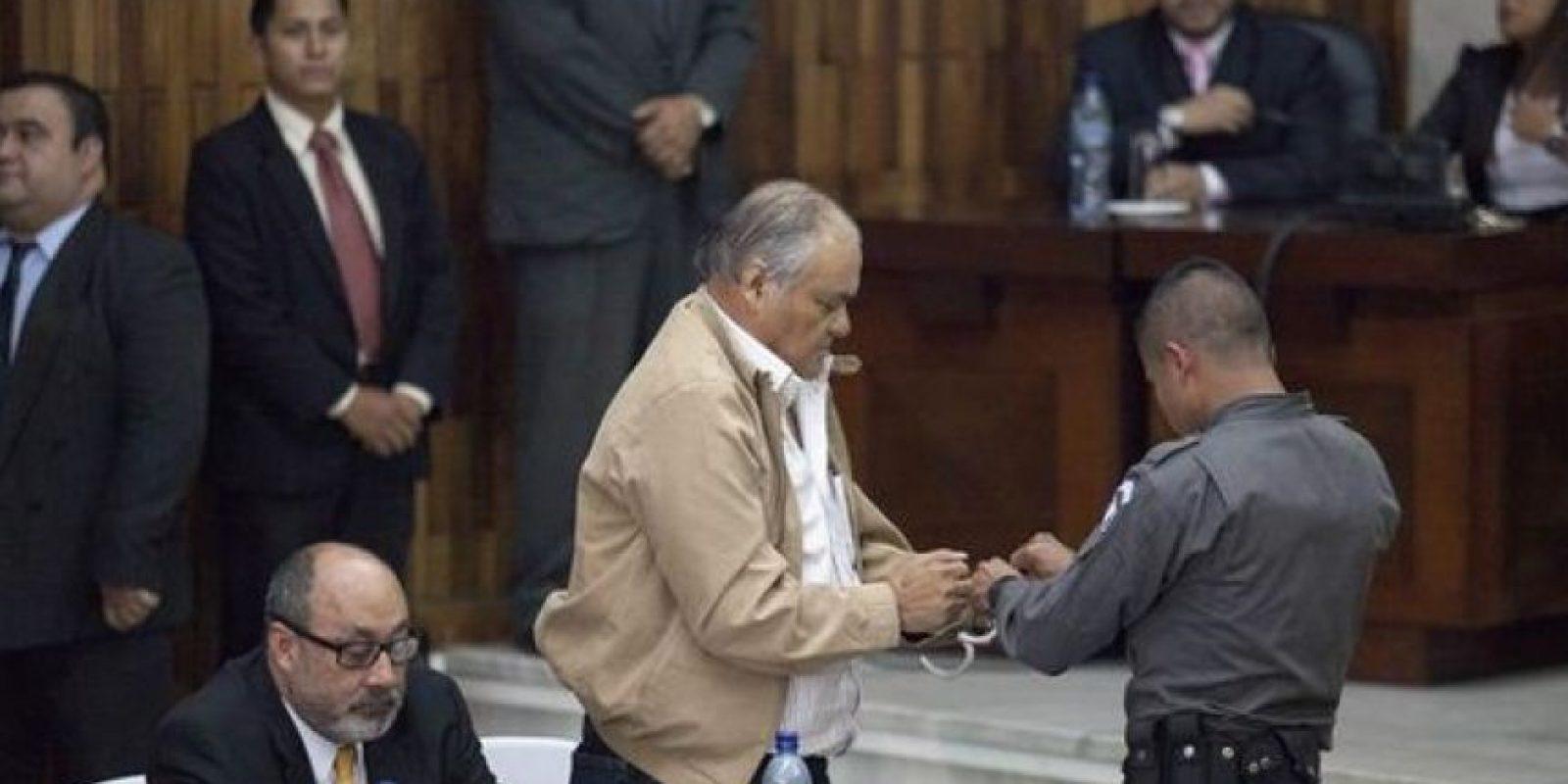 Pedro García Arredondo fue condenado a 90 años de prisión. Foto:Publinews