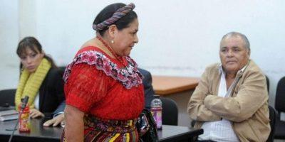 Rigoberta Menchú, querellante. Foto:Publinews