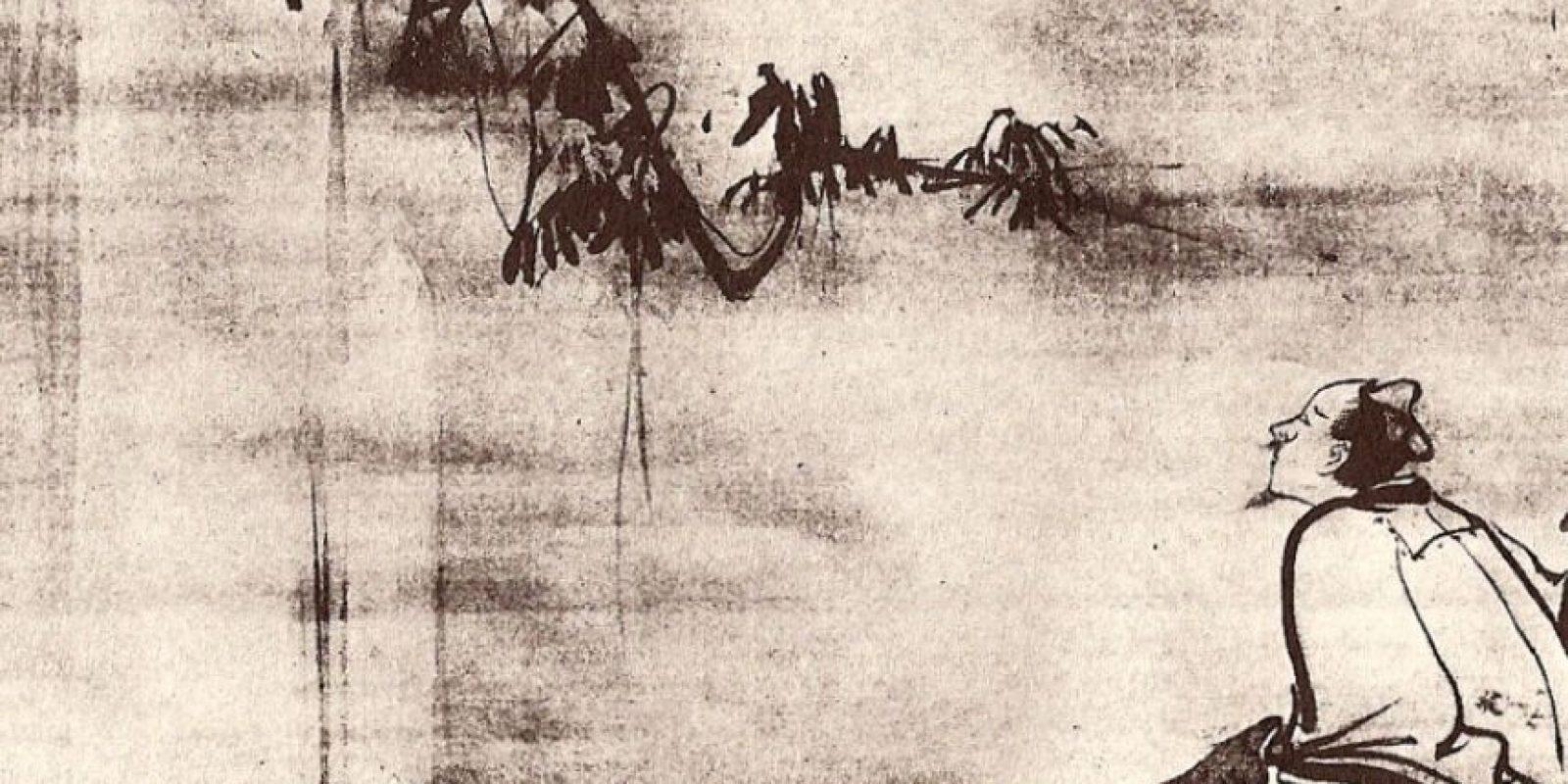 Li Bai fue un poeta chino que murió ahogado. Borracho, vio el reflejo de la luna en el río y quiso abrazarla. Foto:Wikipedia.