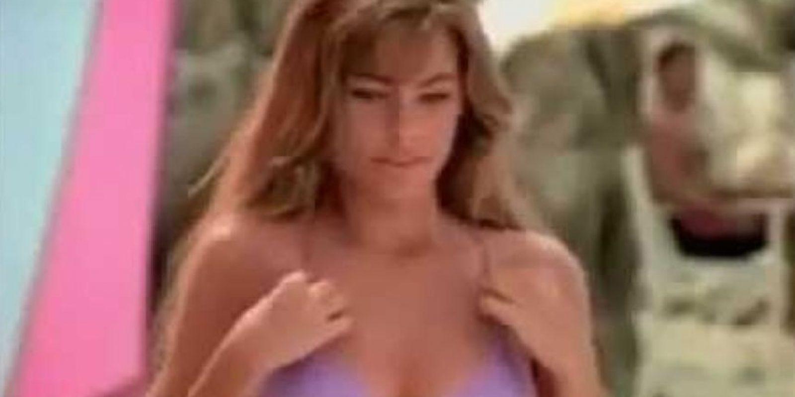 Se hizo famosa en Colombia en 1994, gracias a un comercial de Pepsi Foto:Youtube