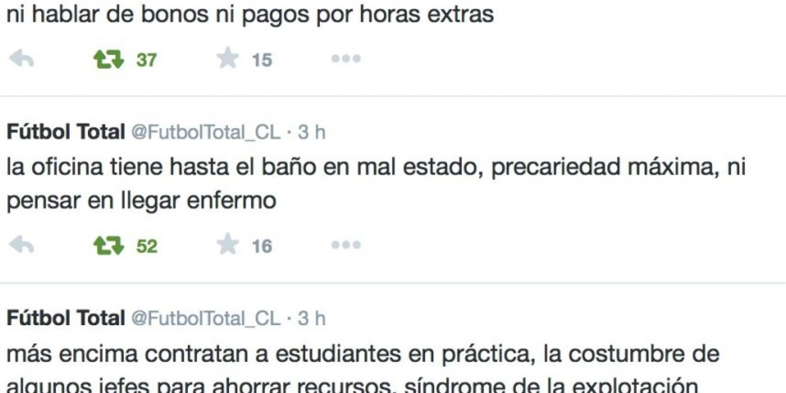 También la forma en cómo lo explotan. Foto:Twitter/FútbolTotal Chile