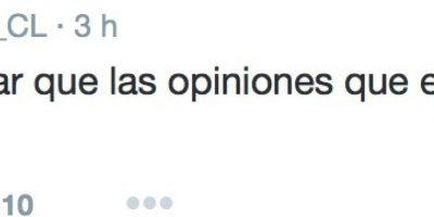 Aclaró que todo lo hacía para denunciar. Foto:Twitter/FútbolTotal Chile