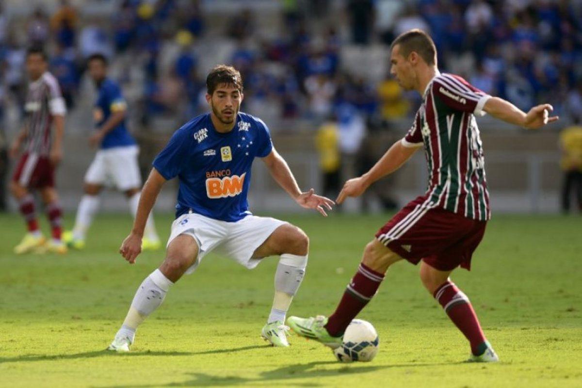 El volante que jugaba para el Cruzeiro fue el segundo fichaje que el Madrid confirmó este jueves. Foto:AFP