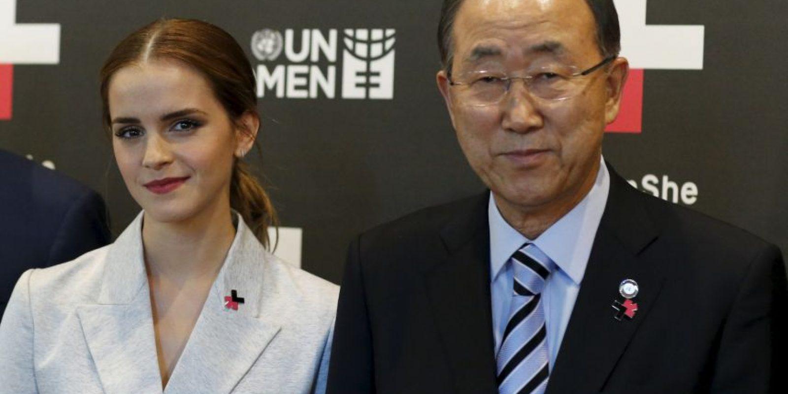 Se llama #HeForShe Impact 10x10x10 Foto:Getty Images