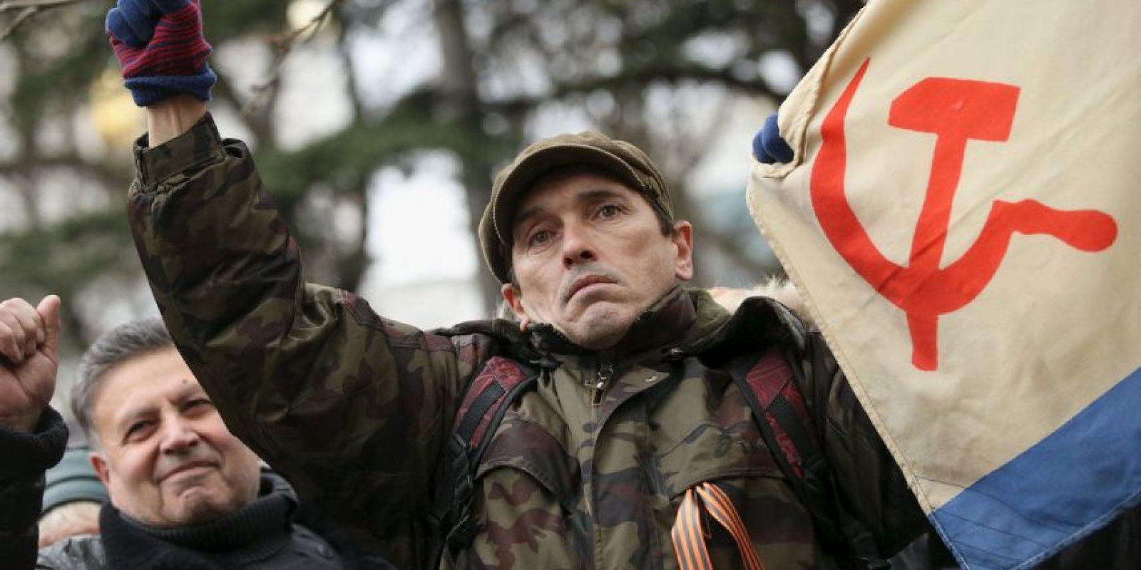 Rusia ha apoyado a los prorrusos Foto:Getty Image