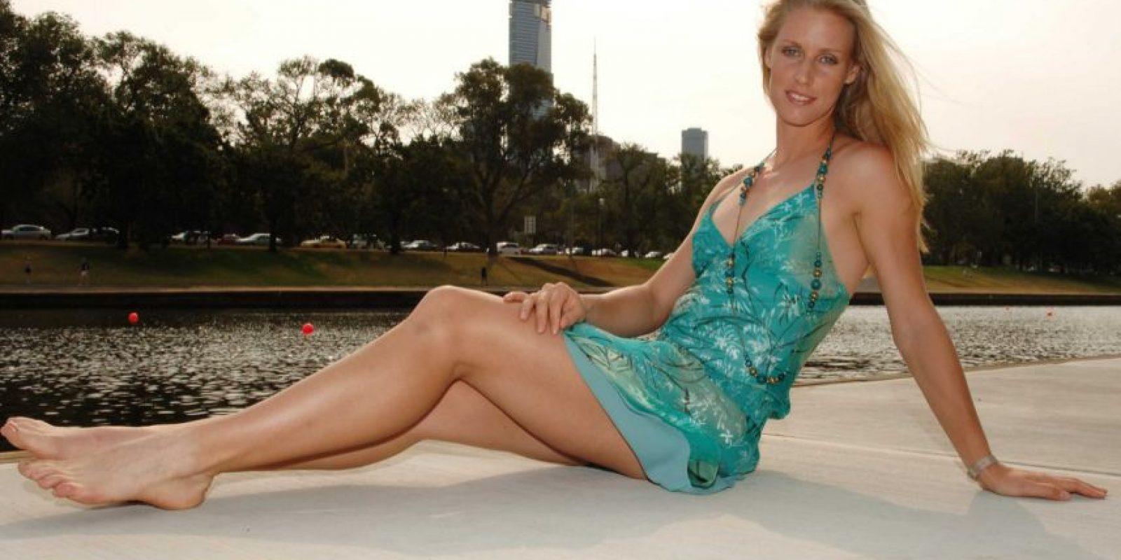 Tiene 33 años y desde 2010 ya no es tenista profesional Foto:Twitter