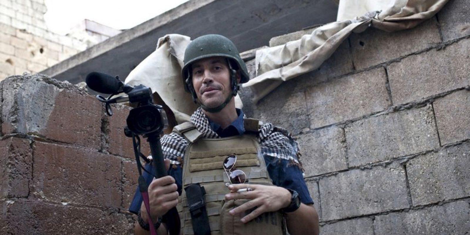 El periodista James Foley fue decapitado por ISIS. Foto:AP