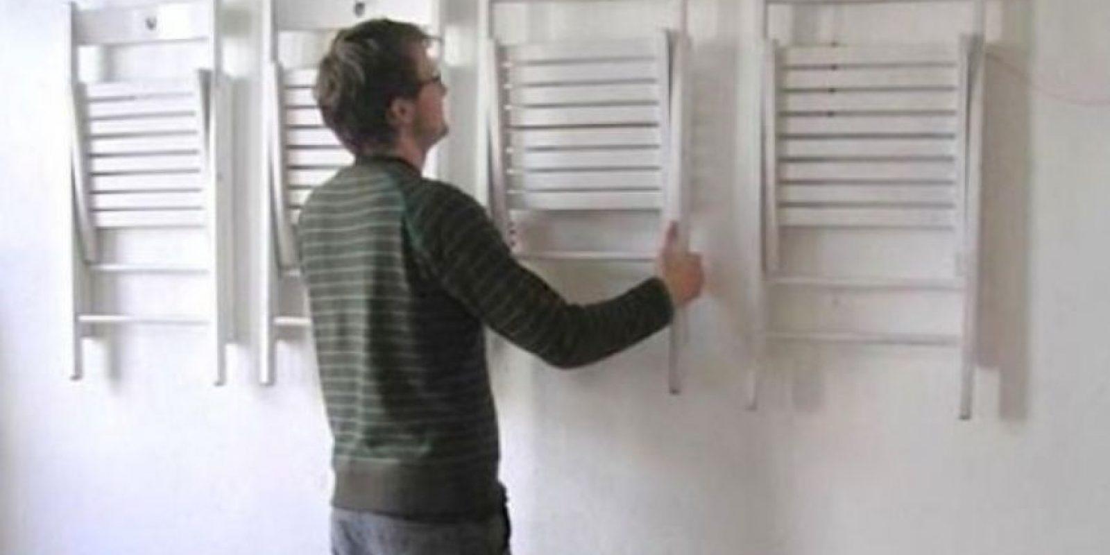 Si no tienen armario… Foto:There I Fixed