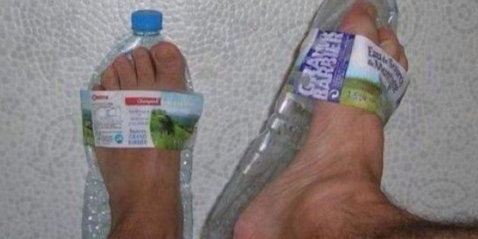 A falta de zapatos… Foto:There I Fixed