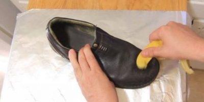 Así se pueden limpiar los zapatos. Foto:There I Fixed