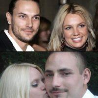 Kevin y Britney #OkNo Foto:Twitter