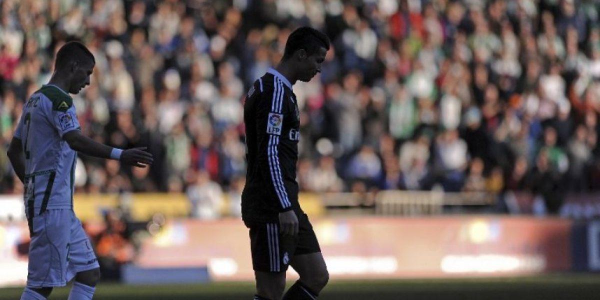 Ronaldo pide disculpas por su expulsión ante el Córdoba