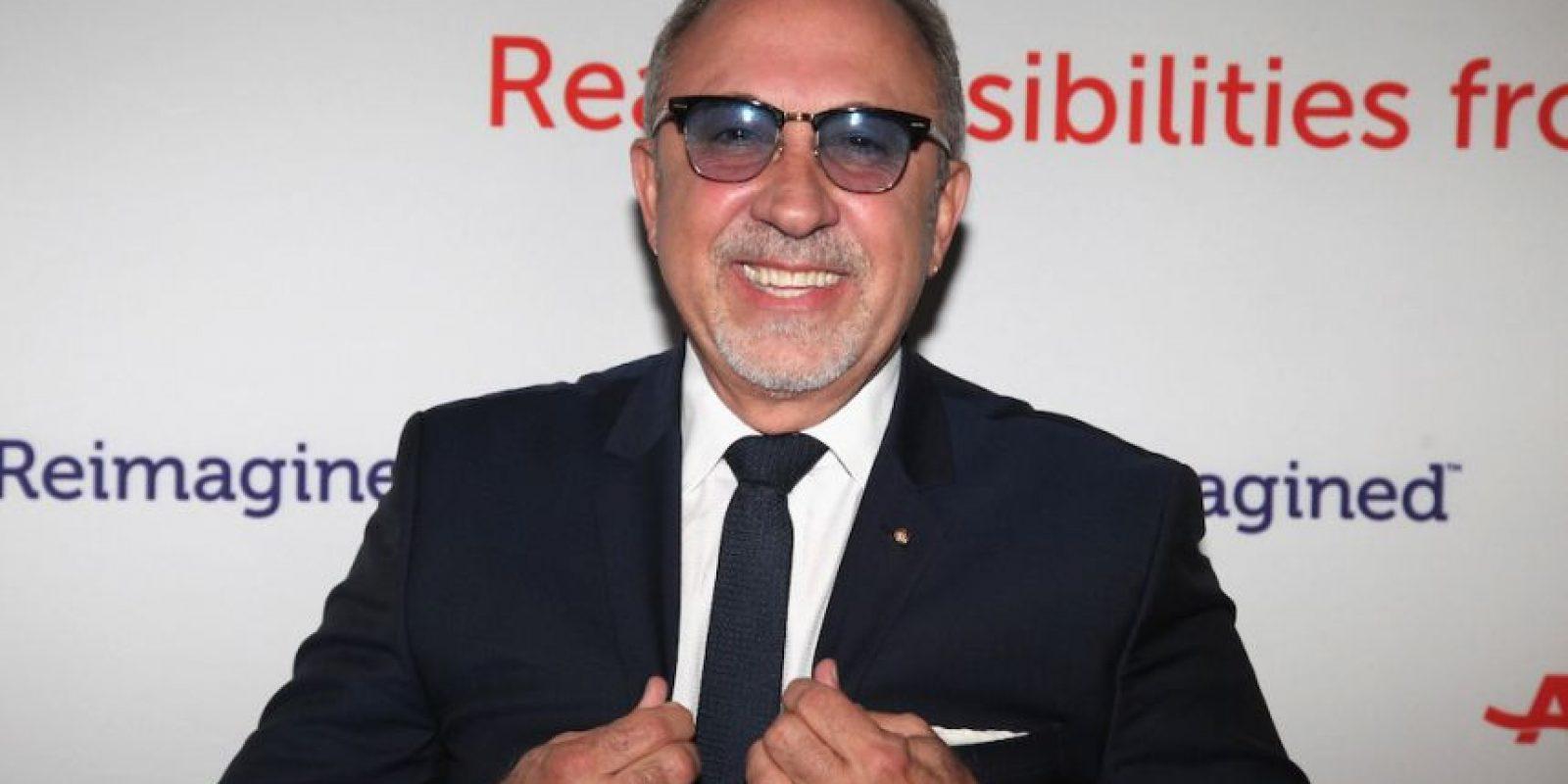 El músico y productor estadounidense ha trabajado con artistas como Thalía, Shakira, Celia Cruz, entre muchos otros. Está casado con Gloria Estefan. Foto:Getty Images