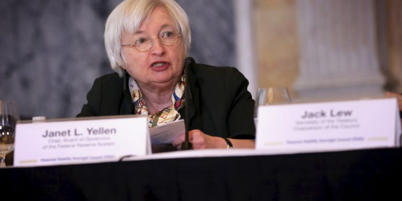 Janet Yellen, Titular de la Reserva Federal de Estados Unidos Foto:Getty Images