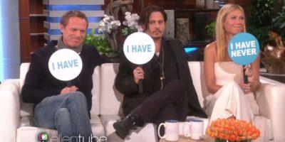 "VIDEO. Johnny Deep juega ""Escrúpulos"" en el show de Ellen DeGeneres"
