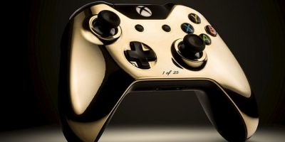 FOTOS: ¡De lujo! Los controles de Xbox y PlayStation con oro de 24K