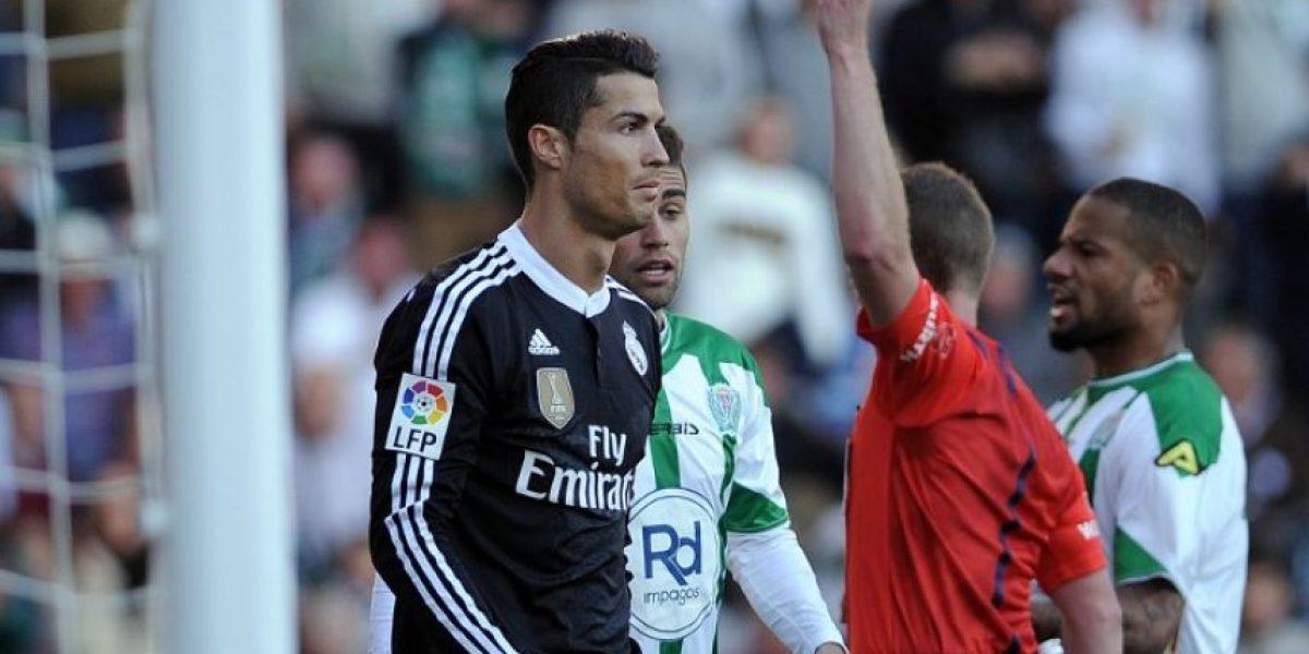VIDEO. Las 9 expulsiones de Cristiano Ronaldo