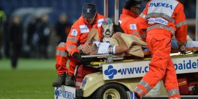 VIDEO. Jugador de la Lazio se fracturó el tobillo pero dio un pase para gol