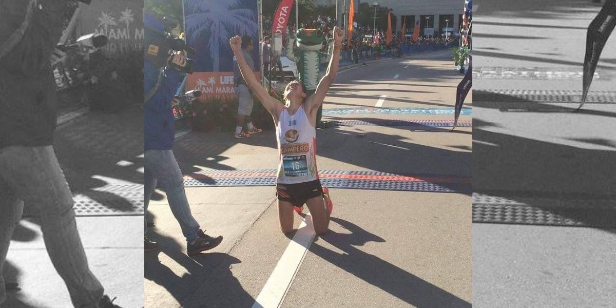 El guatemalteco Rivero vuelve a triunfar en el Maratón de Miami