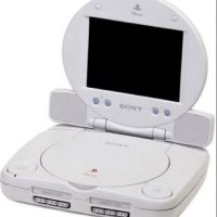 PlayStation One Slim con pantalla Foto: Sony