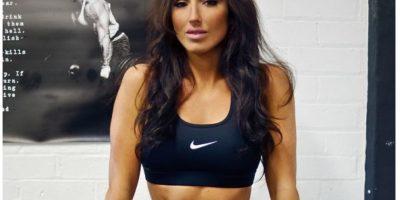 Es una mujer que se dedica al fitness. Foto:Abby Pell/Facebook
