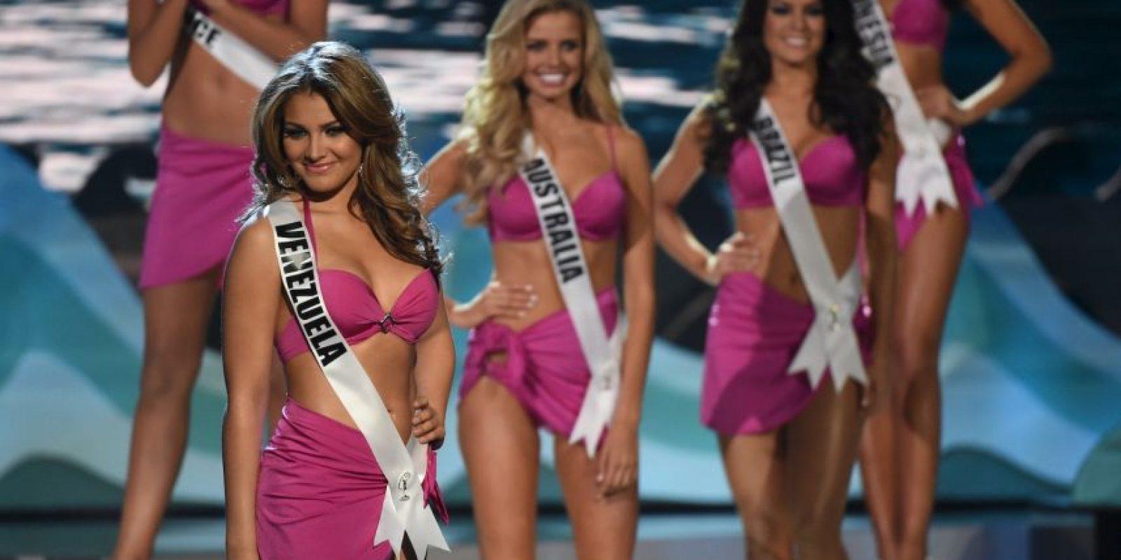 Migbelis Castellanos, Miss Venezuela Foto:AFP