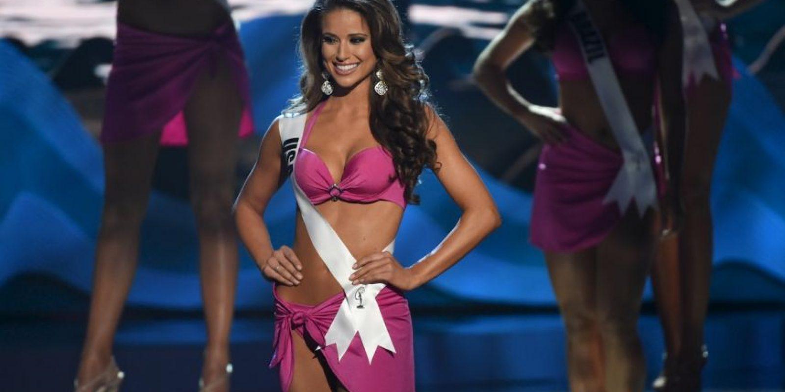 Nia Sanchez, Miss Estados Unidos Foto:AFP