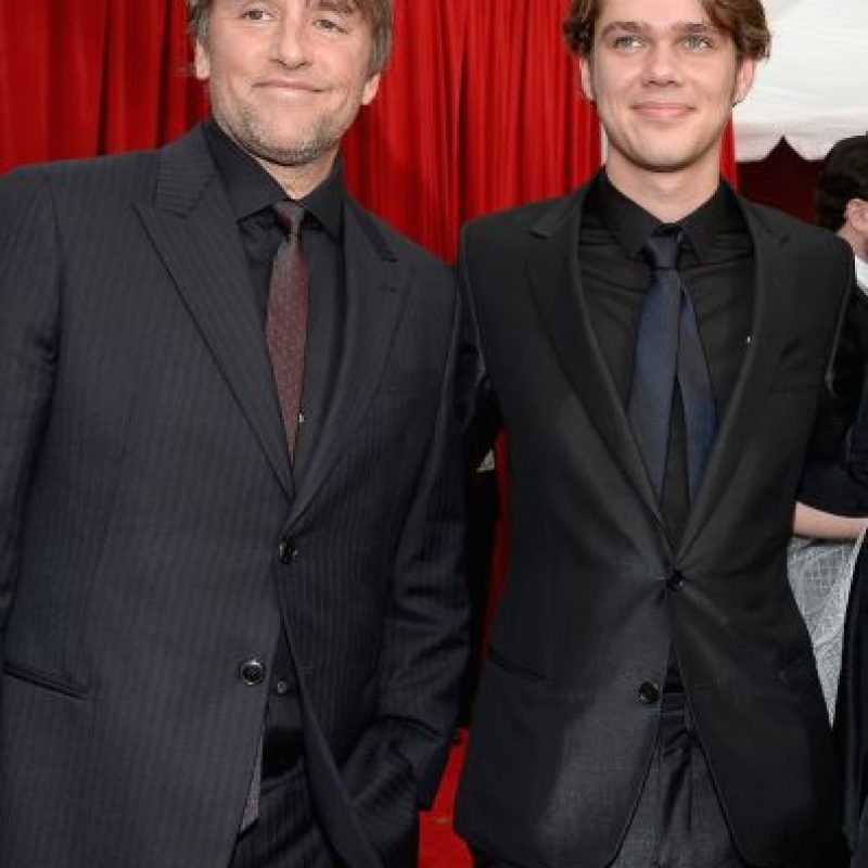 Richard Linklater y Ellar Coltrane Foto: Getty Images