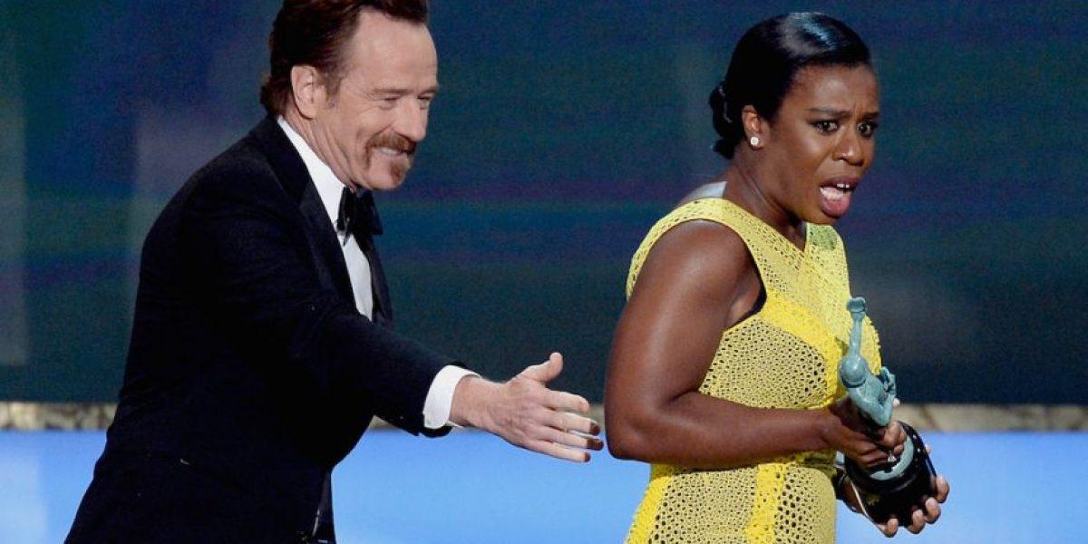 VIDEO: Las actrices que lloraron de emoción al ganar en los SAG Awards