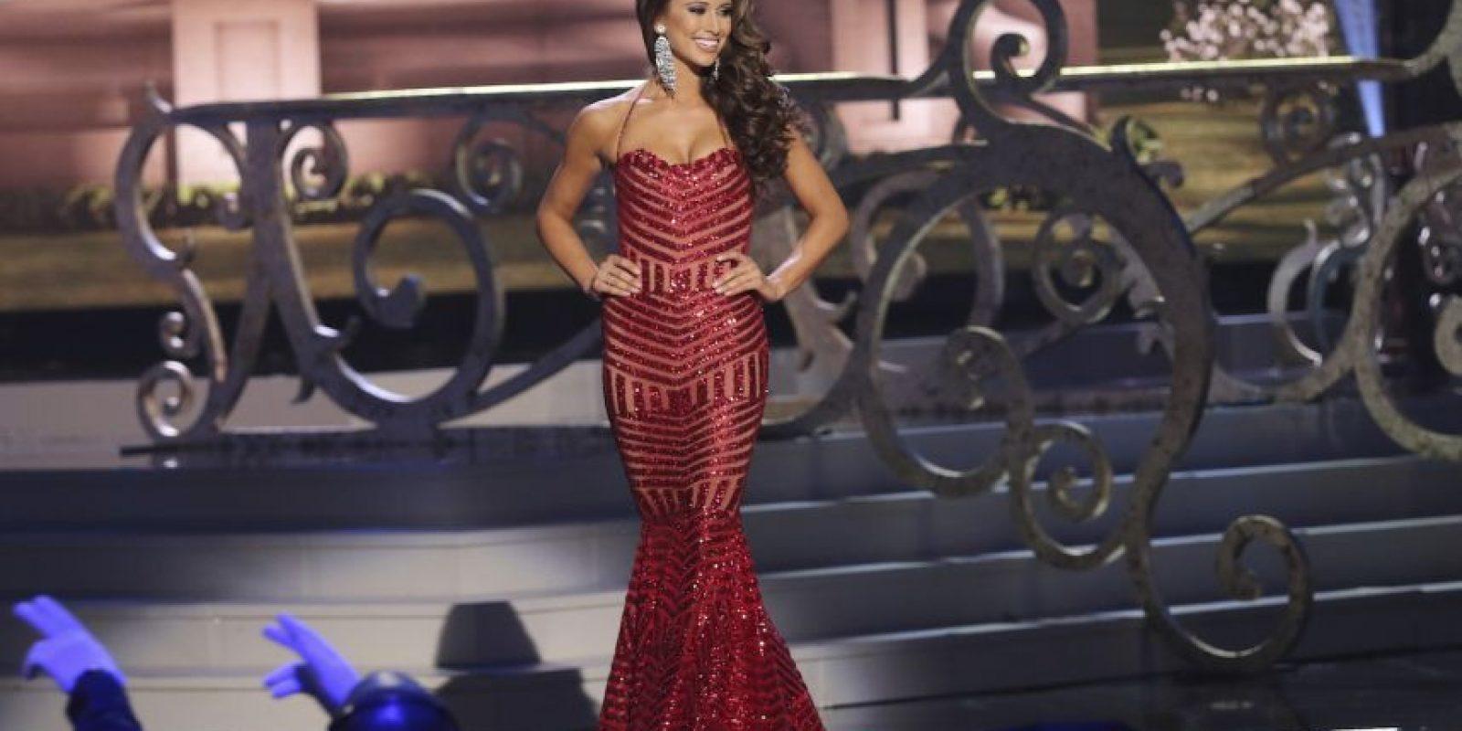 Nia Sanchez, Miss Estados Unidos Foto:Getty Images