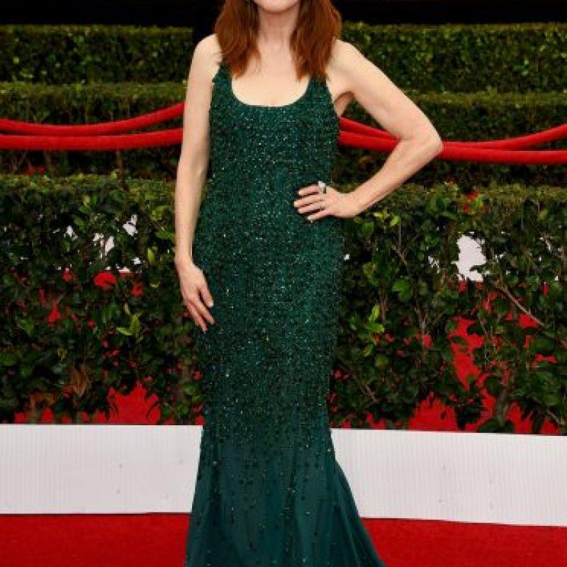"""Julianne Moore ganó la categoría de Mejor actriz en un rol principal por su interpretación de Alice Howland en """"Still Alice"""" Foto:Getty Images"""