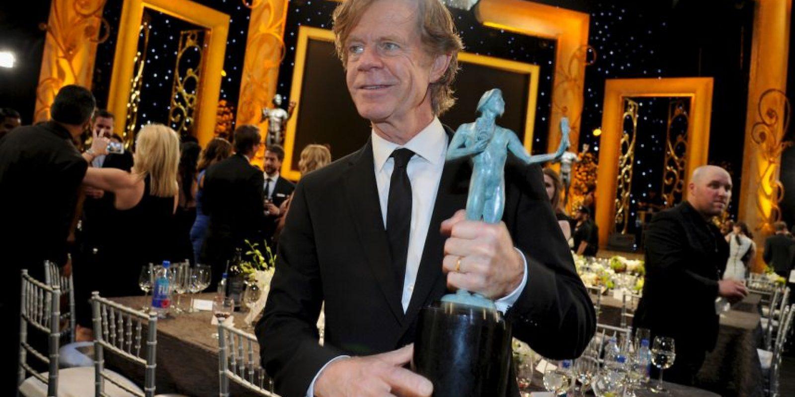 """William H. Macy ganó en la categoría de Mejor actor en serie de comedia por """"Shameless"""" Foto:Getty Images"""