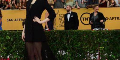 Fotos: Emma Stone impresiona en la alfombra roja de los SAG