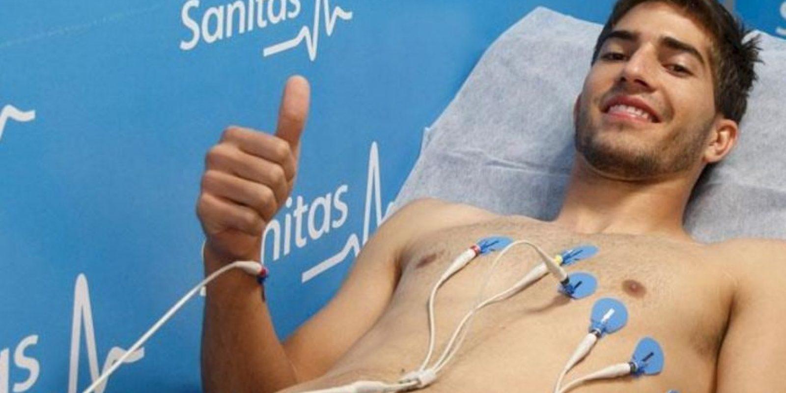 El Hospital Sanitas La Moraleja fue donde le hicieron las pruebas. Foto:Real Madrid