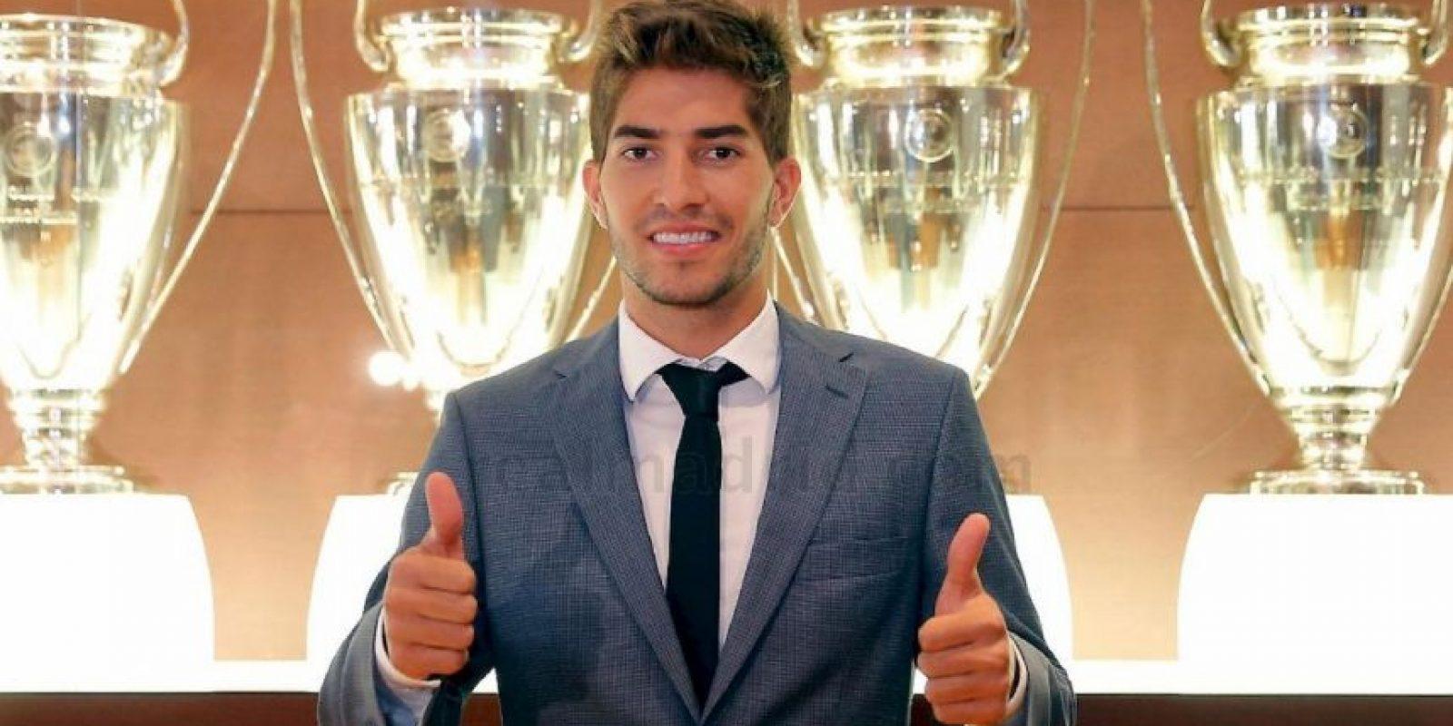 El centrocampista se mostró contento. Foto:Real Madrid