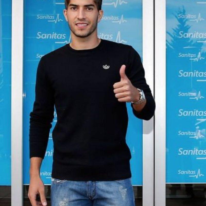 Este lunes acudió a los exámenes médicos. Foto:Real Madrid