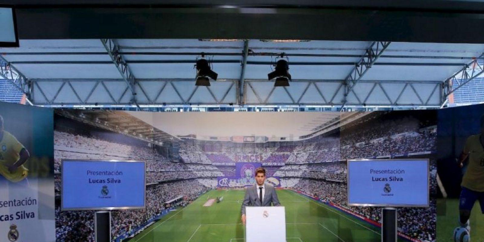 Ofreció un breve discurso. Foto:Real Madrid