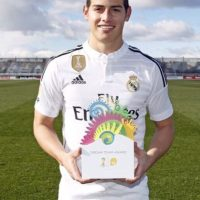 Rodríguez apareció con su nuevo look hace pocos días. Foto:instagram.com/jamesrodriguez10