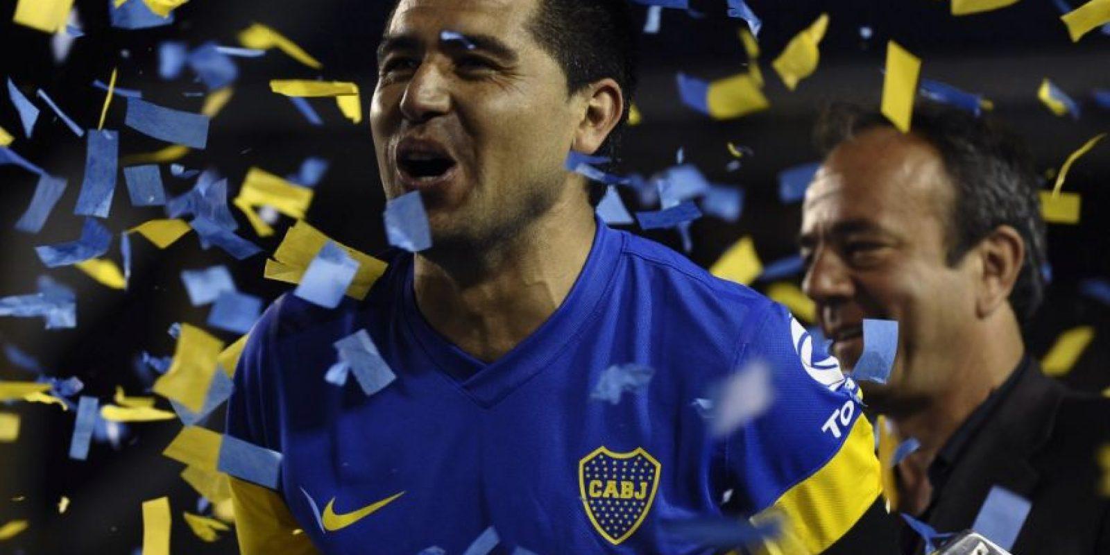 Ganó tres Libertadores con los xeneizes Foto:Facebook: Juan Roman Riquelme