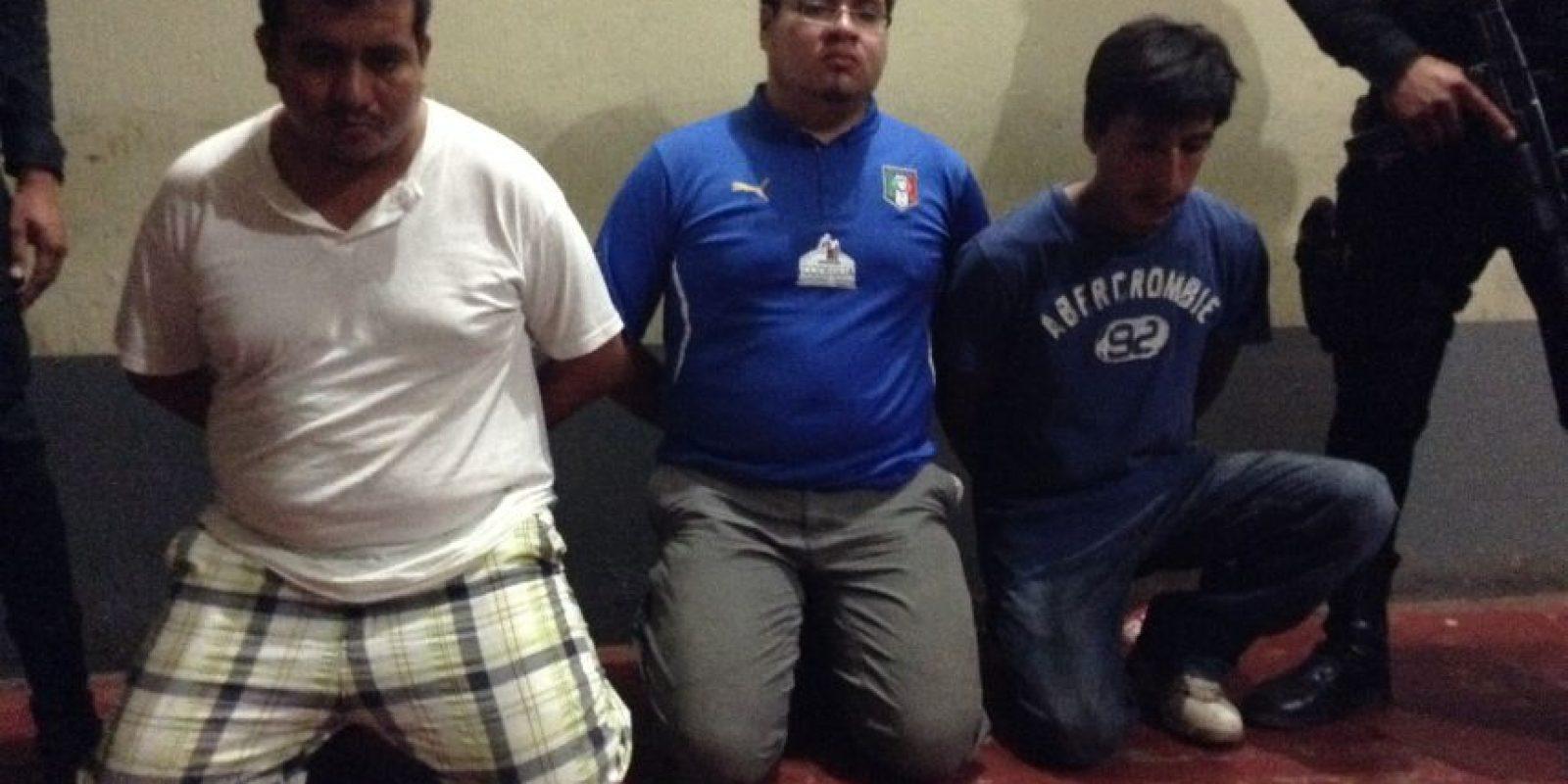 Llevaban plagiado a un adolescente. Foto:PNC
